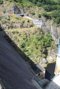 Barrage de Rochebut - (c) Photo EDF - JL