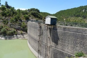 Barrage de Zola - (c) Photo EDF - F. Laugier