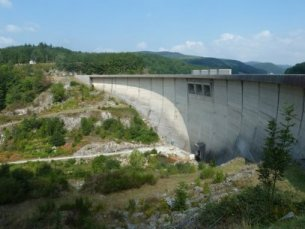 Barrage de Laouzas - (c) Photo EDF - I. Hun